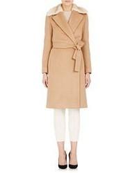 The Row Telmont Coat Nude