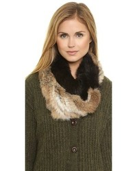 Tan Fur Scarf
