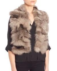 Fox fur scarf medium 779830