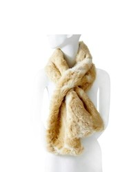 The limited faux fur keyhole scarf medium 242118