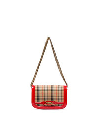 Burberry Link Detail Shoulder Bag