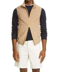 Brunello Cucinelli Water Resistant Zip Vest