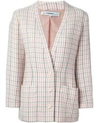 Jean Louis Scherrer Vintage Checked Jacket