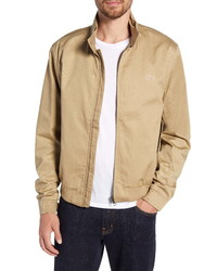 Lacoste Regular Fit Zip Harrington Jacket