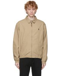 Polo Ralph Lauren Tan Cotton Bayport Jacket