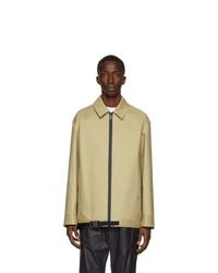 1017 Alyx 9Sm Tan Mackintosh Edition Zip Front Jacket