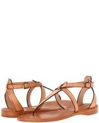 Tan heeled sandals original 1635909