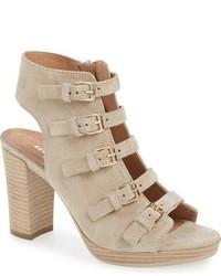 Kennedy buckle strap block heel sandal medium 633159