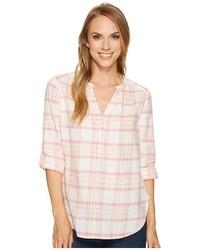Tan Henley Shirt