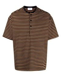 Rhude Striped Cotton T Shirt