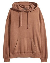 H&M Washed Hooded Sweatshirt