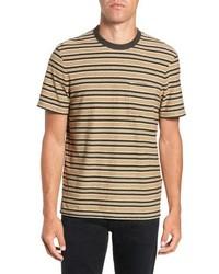 James Perse Vintage Stripe Regular Fit Pocket T Shirt