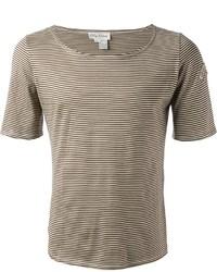 Oleg Cassini Vintage Striped T Shirt