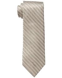 Tan Horizontal Striped Tie