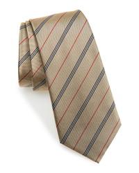 Burberry Manston Stripe Silk Tie