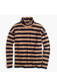 J.Crew Deck Striped Turtleneck T Shirt