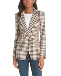 Veronica Beard Lonny Houndstooth Dickey Jacket