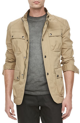 Belstaff Atworth Safari Jacket Tan