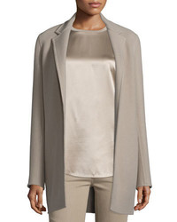 Ralph Lauren Collection Addison Open Front Jacket Taupe