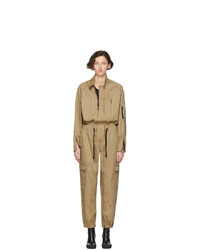 Random Identities Beige Versatile Flight Jumpsuit