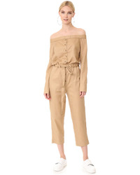 Robert Rodriguez Off Shoulder Jumpsuit