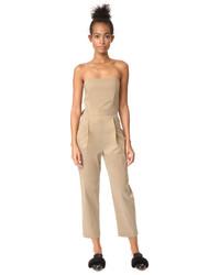 Strapless tuxedo jumpsuit medium 5312016