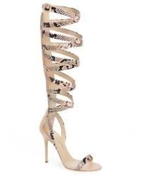 Giuseppe Zanotti Giuseppe For Jennifer Lopez Emme Knee High Gladiator Sandal
