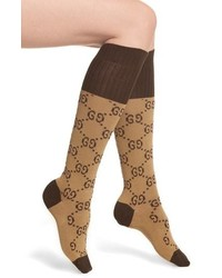 Gucci Gg Knee Socks