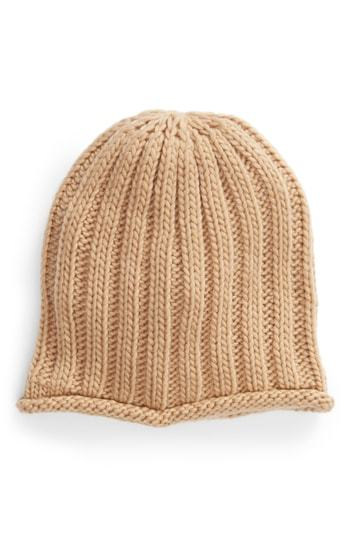 68c24aec876e1d Free People Rory Rib Beanie, $28 | Nordstrom | Lookastic.com