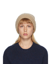 Maison Margiela Tan Pilled Gauge Beanie