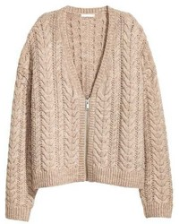 Cable knit cardigan medium 5031940