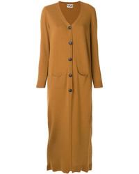 Long knit button up cardigan medium 5252855
