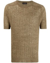 Roberto Collina Short Sleeve Knit T Shirt
