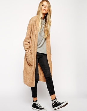 Asos Longline Cardigan With Mohair | Where to buy & how to wear