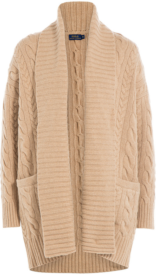 ... Tan Knit Open Cardigans Polo Ralph Lauren Merino Wool Knit Cardigan ... - Polo Ralph Lauren Merino Wool Knit Cardigan Where To Buy & How