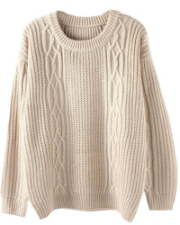 ChicNova Open Knit Oversized Sweater