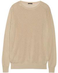 Tan Knit Oversized Sweaters for Women | Women's Fashion