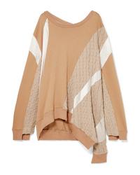Koché Ed Stretch Cotton Blend Sweater