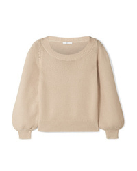 Co Silk And Tton Blend Sweater