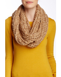 Nine West Chunky Boucle Knit Infinity Scarf