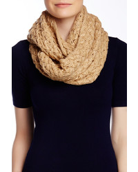 Nine West Chunky Zigzag Knit Infinity Scarf