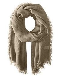 La Fiorentina Multi Knit Scarf With Fringe