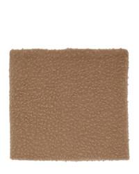 Maison Margiela Tan Wool Gauge 5 Casentino Scarf