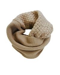 Waffle knit circle scarf medium 389248