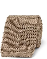 8cm knitted silk tie medium 1245768