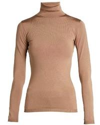 Valentino Roll Neck Fine Knit Sweater