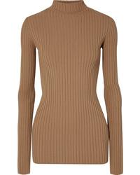 MM6 MAISON MARGIELA Ribbed Knit Turtleneck Sweater