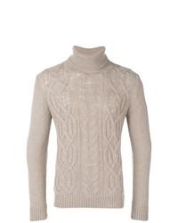 Tagliatore Roll Neck Fitted Sweater