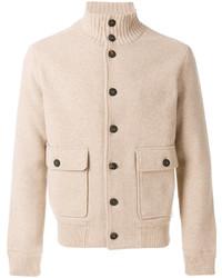 Lardini Knitted Bomber Jacket
