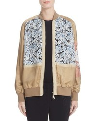 N°21 N21 Lace Inset Bomber
